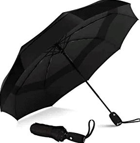 Repel Windproof Double Vented Travel Umbrella