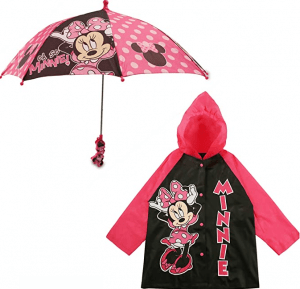 Disney Little Girls Umbrella and Assorted Characters Slicker