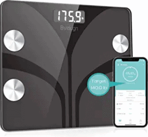 Bveiugn Smart Wireless Digital Bathroom Scale