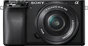 Sony Alpha A6100 Mirrorless Camera