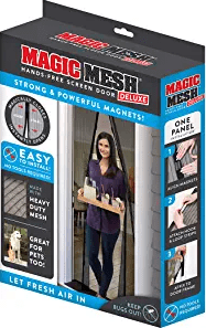 Magic Mesh New and Improved Hands-Free Magnetic Screen