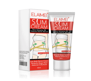 ELAIMEI Cellulite Removal Fat Burning Cream With Massage Roller